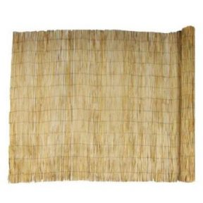 ALL NATURAL BAMBOO REED FENCE 4' x 10'