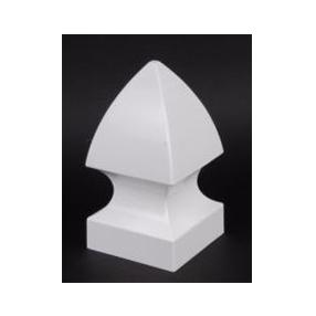 WHOLESALE CASE OF 45 PVC GOTHIC STYLE POST CAPS 5″ 1