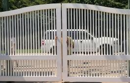 Jupiter Capped Estate Gate