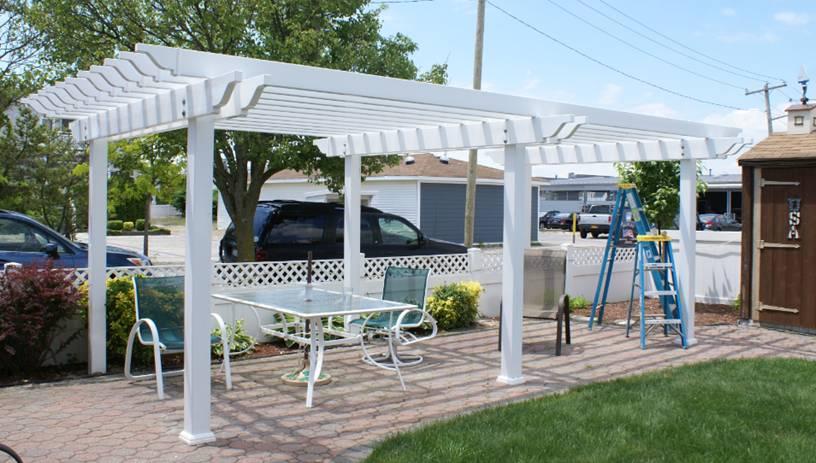 Wayside Fence Company Bay Shore Ny Arbors Pergolas
