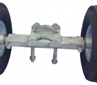 Rolling Gate-Double Carrier Wheel
