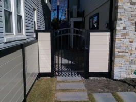 Sequoia Sand Horizontal with Granite Gate