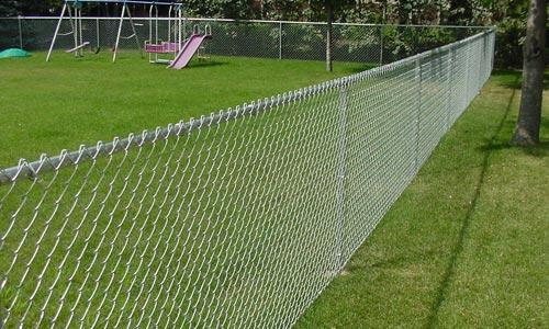 Chain Link Fence And Gates Wayside Fence New York