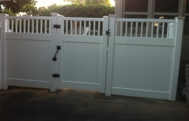 Orlando Capped Fence & Gate