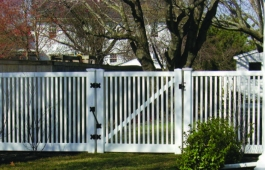 Louisville Capped Fence & Gate