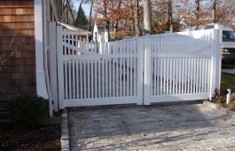 Chicago Double Drive Steel Framed Gate