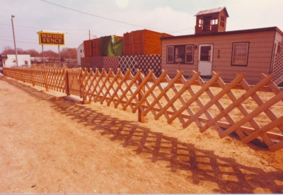 Wayside Fence Company's sales office in West Babylon, NY: 1981