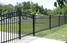 "48"" Granite Double Gate"