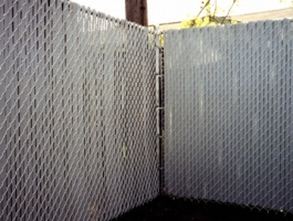 Grey Top Lock Slats